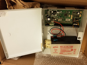 Downsizing:  Paradox Electronic Security System Box w/ Battery.