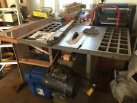 Industrial table saw 1.5HP
