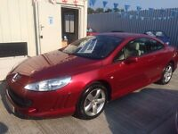 07 Peugeot 407 SE 2.2 Coupe - FULL MOT - 59k - SAT NAV - Leather - Many Other Extras - PX WELCOME