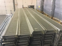 "Metal Planks for Pallet Rack Mezzanine Flooring - 12' L x 9"" W"