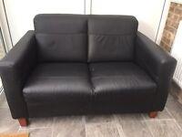 Free black sofa