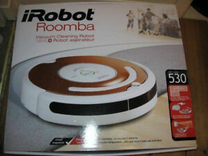 Roomba Robotic Vacuum (paid $800)