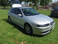 RELIST DUE TO TIMEWASTER seat Leon Cupra 180turbo, 9month mot, service history, cambelt