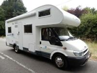 **Deposit Taken**Chausson Welcome 27 2005 6 Berth Rear Fixed Bed Motorhome