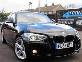 2013 BMW 1 SERIES 125I M SPORT AUTOMATIC 5DR 6 SPEED MANUAL PETROL HATCHBACK PET