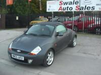 2005 05 FORD STREET KA 1.6 ICE 2 DOOR VERY NICE AND CLEAN CONVERTIBLE