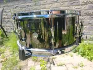 Inde 14x6.5 Black Nickel Over Brass