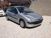 2004/54 Peugeot 206 1.4S 2 FORMER KEEPERS 73k SPARES OR REPAIRS