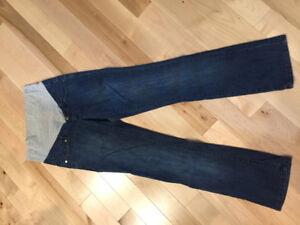 Jeans de maternité x-small (grandeur 5-7 ans)