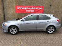 2010 (60) MITSUBISHI LANCER GS2 DI-D, 1 YEAR MOT, NOT FOCUS ASTRA MEGANE 308 GOLF A3