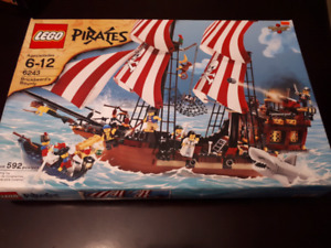 2009 lego brickbeards bounty pirate ship