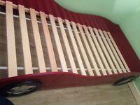 Wooden Car Kids single bed