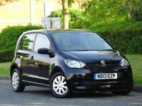 Skoda Citigo 2013 1.0 MPI S 5 DOOR + £20 TAX + AUX + FULL SERV HIST + 1 F/OWNER