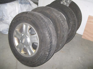 R16 All Season Tires with Mags
