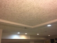 Texture ceilings removal/application