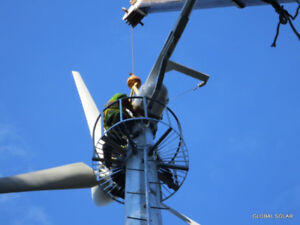 Produce your own electricity with a wind turbine and/or solar-el