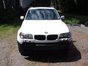 2005 BMW X3 VUS 3.0l