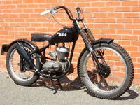 BSA BANTAM BOBBER SPECIAL D14B 1954 186CC