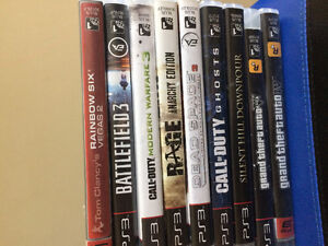 PS3 Games/Excellent Condition