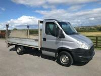 2012 62 IVECO-FORD DAILY 2.3 35S11 106 BHP 12FT ALUMINIUM DROPSIDE W TAILLIFT