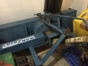 6 foot Lucknow snow rear blower s60 nice shape 3 point hitch