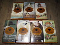 Canada Wildlife Silver Coin & Stamp Sets Collection of 7 sets