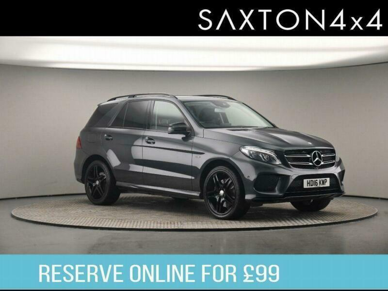 2016 Mercedes-Benz GLE CLASS 3.0 GLE450 V6 AMG G-Tronic 4MATIC (s/s) 5dr SUV Pet