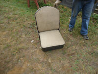Antique boat seat
