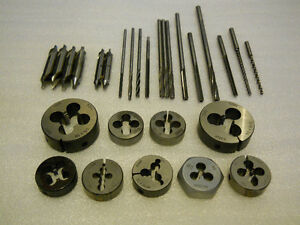 ROUND THREAD CUTTING DIES and REAMERS (HSS - New)