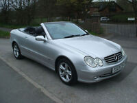 MERCEDES-BENZ CLK 320 AVANTGARDE SAT NAV FULL HEATED LEATHER