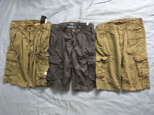 3 Pair Of Boy's Cargo Shorts - Size 5-6 .... $10 For All 3 Pair