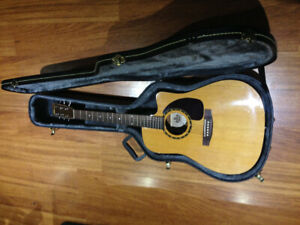 Norman Acoustic ST40 CW w case