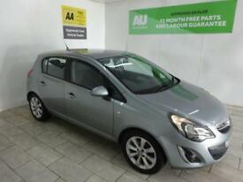 SILVER VAUXHALL CORSA 1.2 EXCITE AC ***from £112 per month***