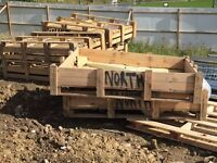 FREE TIMBER PALLETS AND TIMBER PACKING CRATES