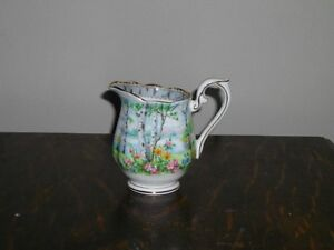 ROYAL ALBERT SILVER BIRCH FINE BONE CHINA FOR SALE!