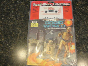 Vintage Star Wars Droid World Read Along Book 1983 New