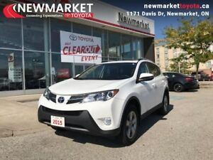 2015 Toyota RAV4 AWD XLE  - trade-in - local - one owner - Certi