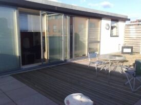 Double room is available in the three bedroom penthouse apartment