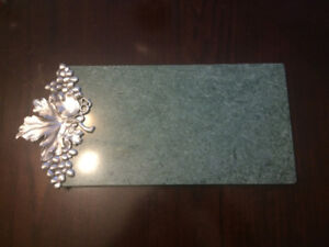 Seagull Pewter Marble Tray