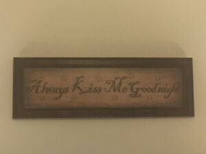 "Big Hallmark ""Always Kiss Me Goodnight"" Picture"