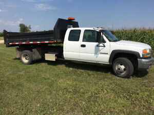 2005 GMC 3500 Dually Dumptruck For Sale