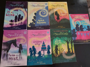 DISNEY'S The Never GIrls  1-7 books