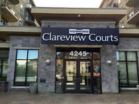 1 bedroom Condo with Storage room or Den, close to Clareview LRT