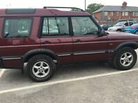 LANDROVER DISCOVERY TD5 GS 2.5 2000..YEAR MOT..EXELLENT CONDITION