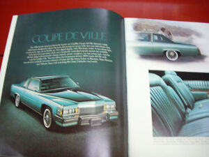 1979 Cadillac sales brochure Peterborough Peterborough Area image 3