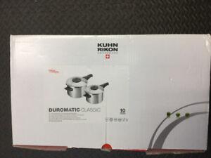 Pressure cooker Kuhn Rikon 3918 7qt like new