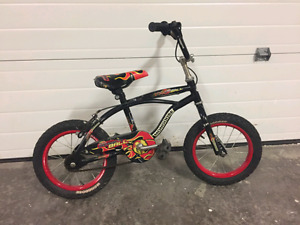 "Boy's 14"" Mongoose bike for sale"