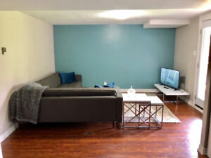2 Bedroom Basement Apartment (with W/O + 1 Parking) in Pickering
