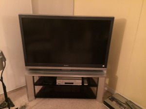 "46"" Sony TV (Older Style) with Stand"