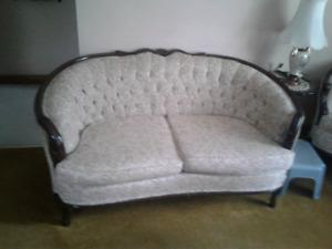 French provincial sofa set